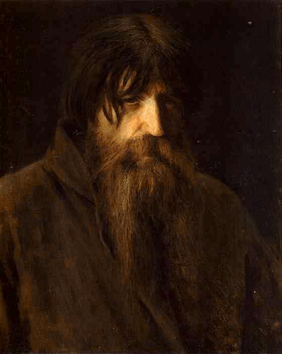 Head of an Old Peasant | Ivan Nikolaevich Kramskoy | Oil Painting