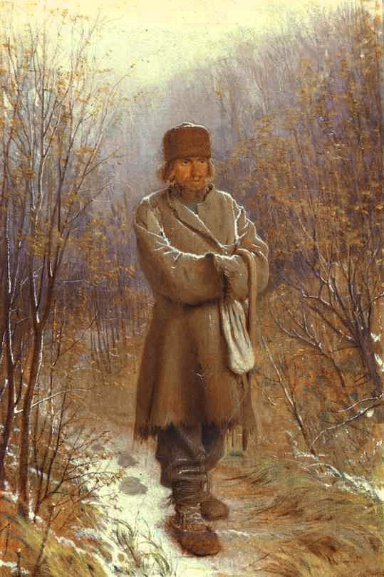 Meditator | Ivan Nikolaevich Kramskoy | Oil Painting
