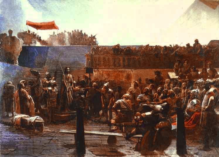 Mocking Christ | Ivan Nikolaevich Kramskoy | Oil Painting