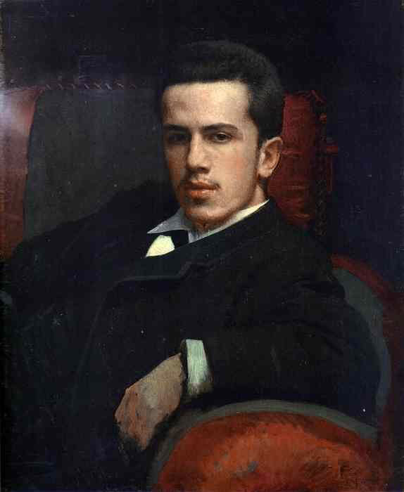 Portrait of Anatoly Kramskoy the Artists Son | Ivan Nikolaevich Kramskoy | Oil Painting