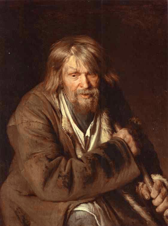 Portrait of an Old Peasant | Ivan Nikolaevich Kramskoy | Oil Painting