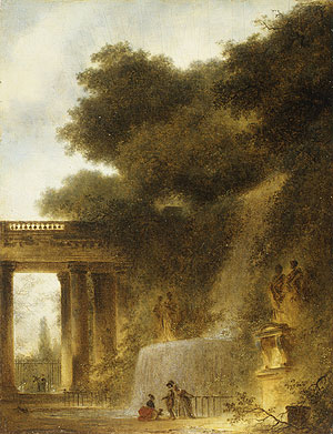 The Cascade probably 1773 | Jean Honore Fragonard | Oil Painting