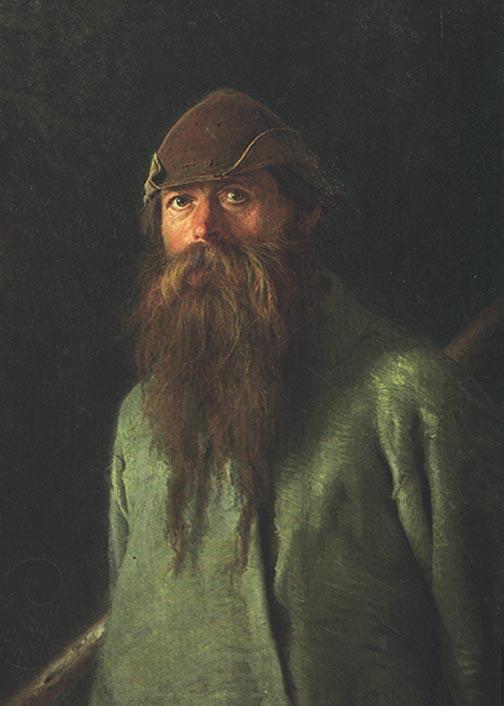 Woodsman | Ivan Nikolaevich Kramskoy | Oil Painting