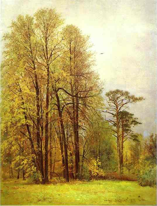 Autumn 1892 | Ivan Shishkin | Oil Painting