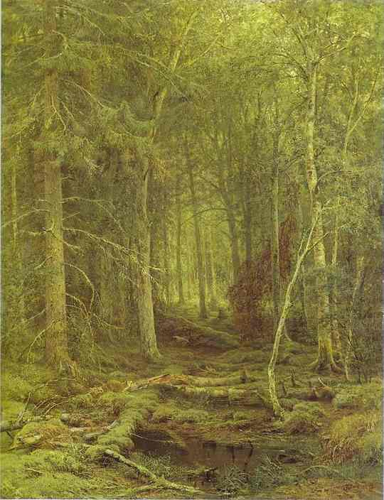 Backwoods 1872 | Ivan Shishkin | Oil Painting