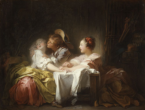 The Stolen Kiss 1756 | Jean Honore Fragonard | Oil Painting