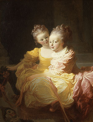 The Two Sisters | Jean Honore Fragonard | Oil Painting