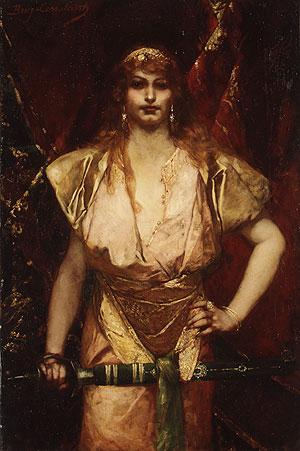 Judith | Jean Joseph Benjamin Constant | Oil Painting