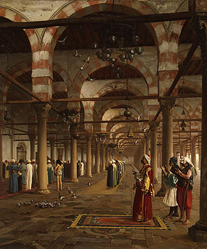 Prayer in the Mosque 1871 | Jean Len Geee | Oil Painting