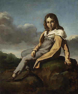 Alfred Dedreux as a Child | Jean Louis Andre Theodore | Oil Painting