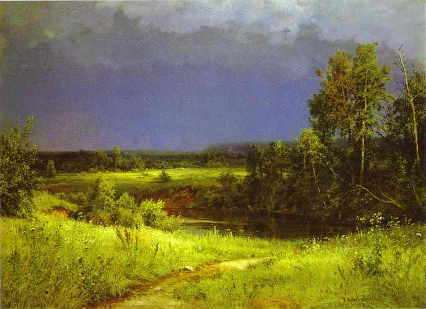 Gathering Storm 1884 | Ivan Shishkin | Oil Painting