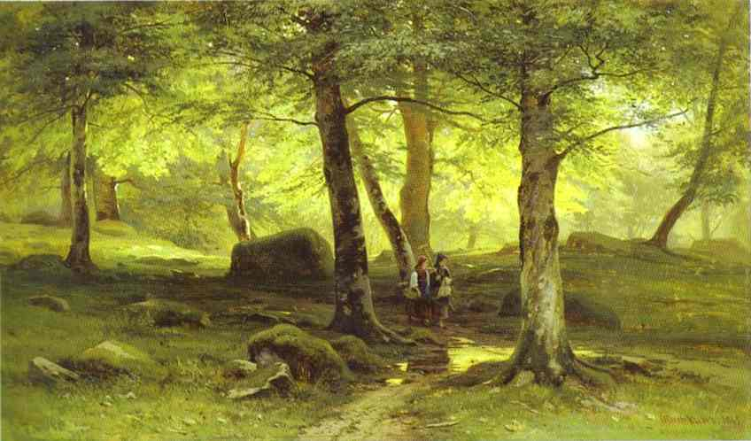 In The Grove 2 1865 | Ivan Shishkin | Oil Painting