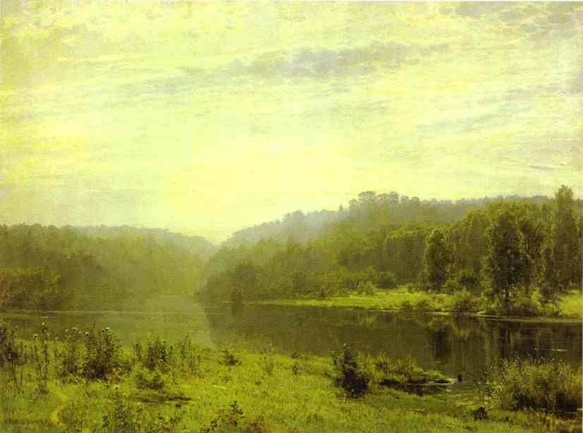 Misty Morning 1885 | Ivan Shishkin | Oil Painting