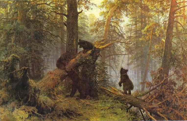 Morning In A Pine Forest 1889 | Ivan Shishkin | Oil Painting