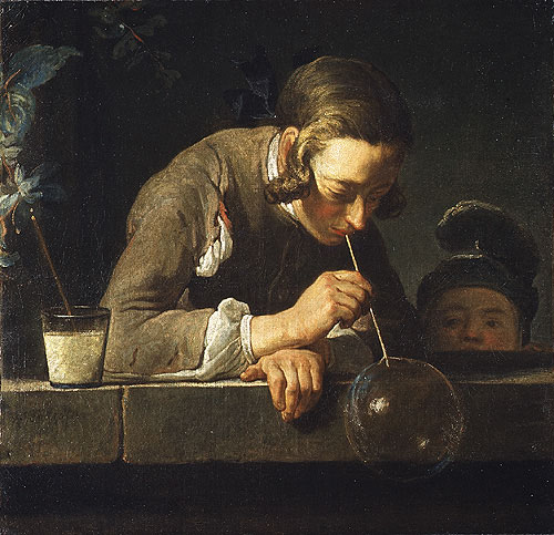 Soap Bubbles | Jean Simeon Chardin | Oil Painting
