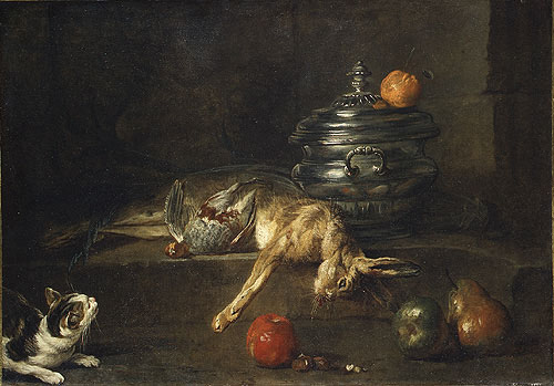 The Silver Tureen 1728 | Jean Simeon Chardin | Oil Painting