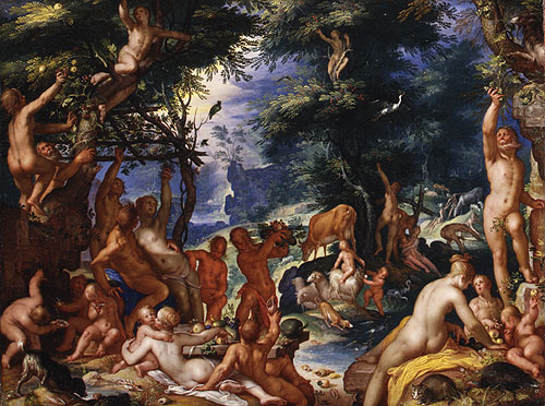The Golden Age 1605 | Joachim Wtewael | Oil Painting