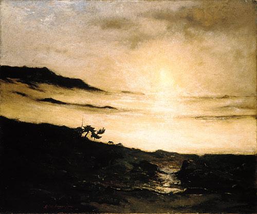 Slumbering Fog | Elliott Daingerfield | Oil Painting