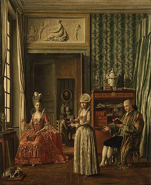 Domestic Scene | Johann Eleazer Zeissig Schenau | Oil Painting