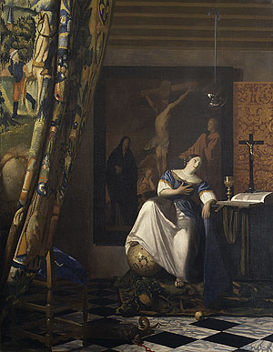 Allegory of the Faith ca 1670 | Johannes Vermeer | Oil Painting