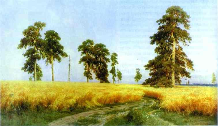 Rye 1878 | Ivan Shishkin | Oil Painting