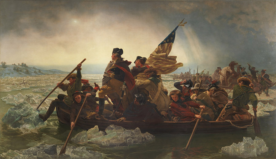 Washington Crossing the Delaware 1851 | Emanuel Leutze | Oil Painting