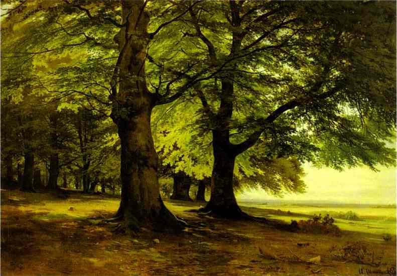 The Teutoburg Forest 1865 | Ivan Shishkin | Oil Painting