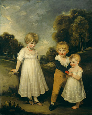 The Sackville Children | John Hoppner | Oil Painting