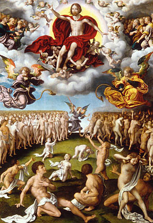 The Last Judgment ca 1520 | Joos van Cleve | Oil Painting