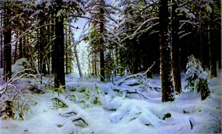 Winter 1890 | Ivan Shishkin | Oil Painting