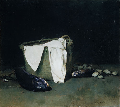 Blackfish and Clams | Emil Carlsen | Oil Painting