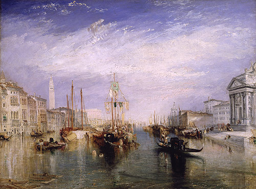 Venice from the Porch of Madonna della Salute ca 1835 | Joseph Mallord William Turner | Oil Painting