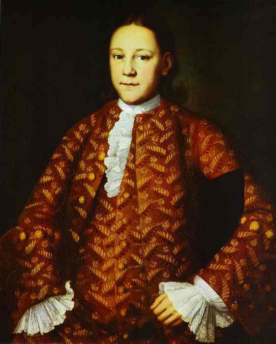 Portrait Of Yakovlev 1756 | Ivan Vishnyakov | Oil Painting