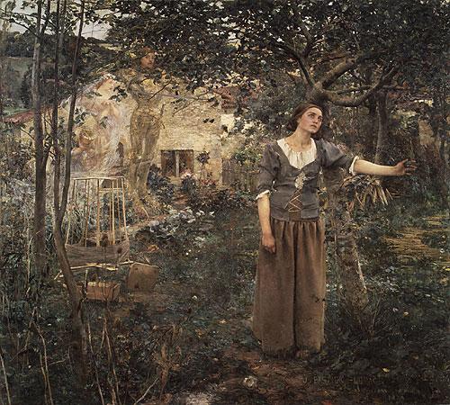 Joan of Arc 1879 | Jules Bastien Lepage | Oil Painting