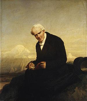 Baron Alexander von Humboldt | Julius Schrader | Oil Painting