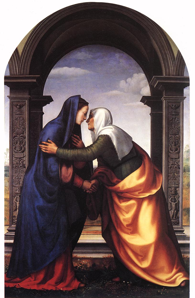 Visitation 1503 | Jacobello Albertinelli | Oil Painting