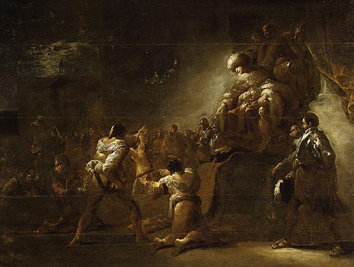 The Judgment of Solomon | Leonard Bramer | Oil Painting