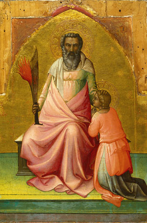 Abraham ca 1408 | Lorenzo Monaco | Oil Painting