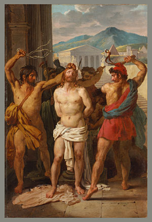 Flagellation of Christ 1816 | Louis Vincent | Oil Painting