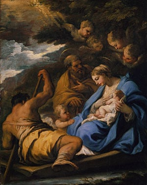 The Flight into Egypt | Luca Giordano | Oil Painting