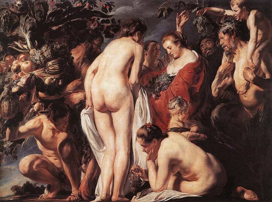 Allegory Of Fertility 1623 | Jacob Jordaens | Oil Painting