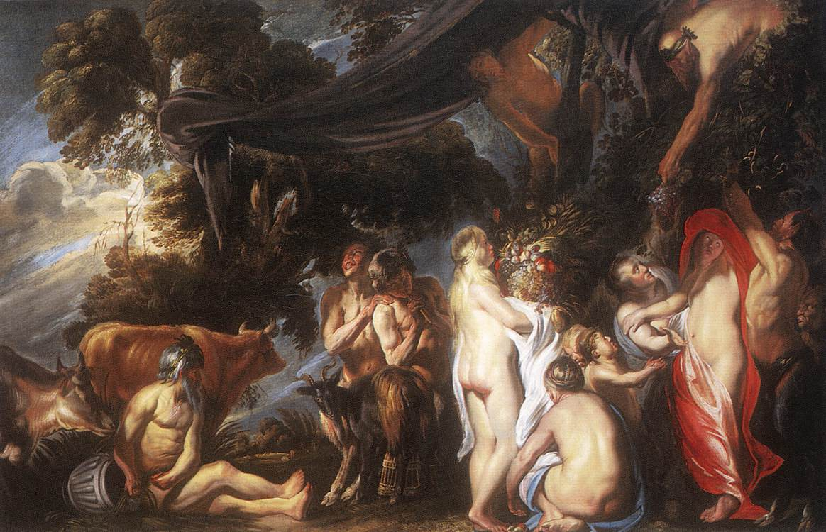 Allegory Of Fertility | Jacob Jordaens | Oil Painting