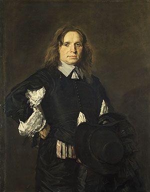 Portrait of a Man early 1650s   Frans Hals   Oil Painting