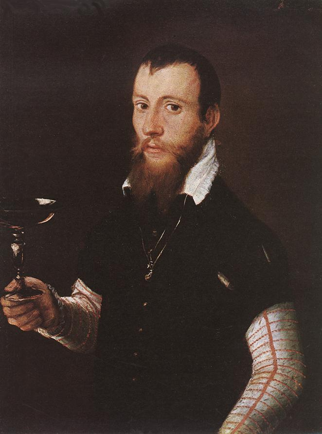 Portrait of Wilhelm Neythart 1565 | Jacob Seisenegger | Oil Painting