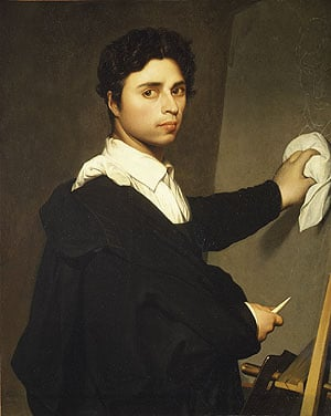 Ingres as a Young Man 1850 | Madame Gustave Huet | Oil Painting