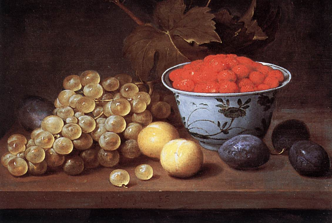Still Life With Fruit | Jacob Van Es | Oil Painting