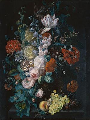 A Vase of Flowers 1716 | Margareta Haverman | Oil Painting
