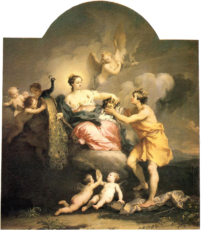 Juno Receiving The Head Of Argos 1730-32 | Jacopo Amigoni | Oil Painting