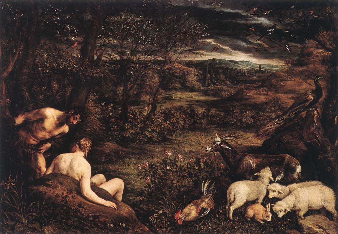 Garden Of Eden 1570-73 | Jacopo Bassano | Oil Painting