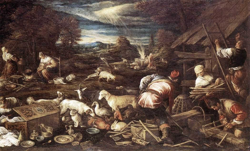Noahs Sacrifice 1574 | Jacopo Bassano | Oil Painting
